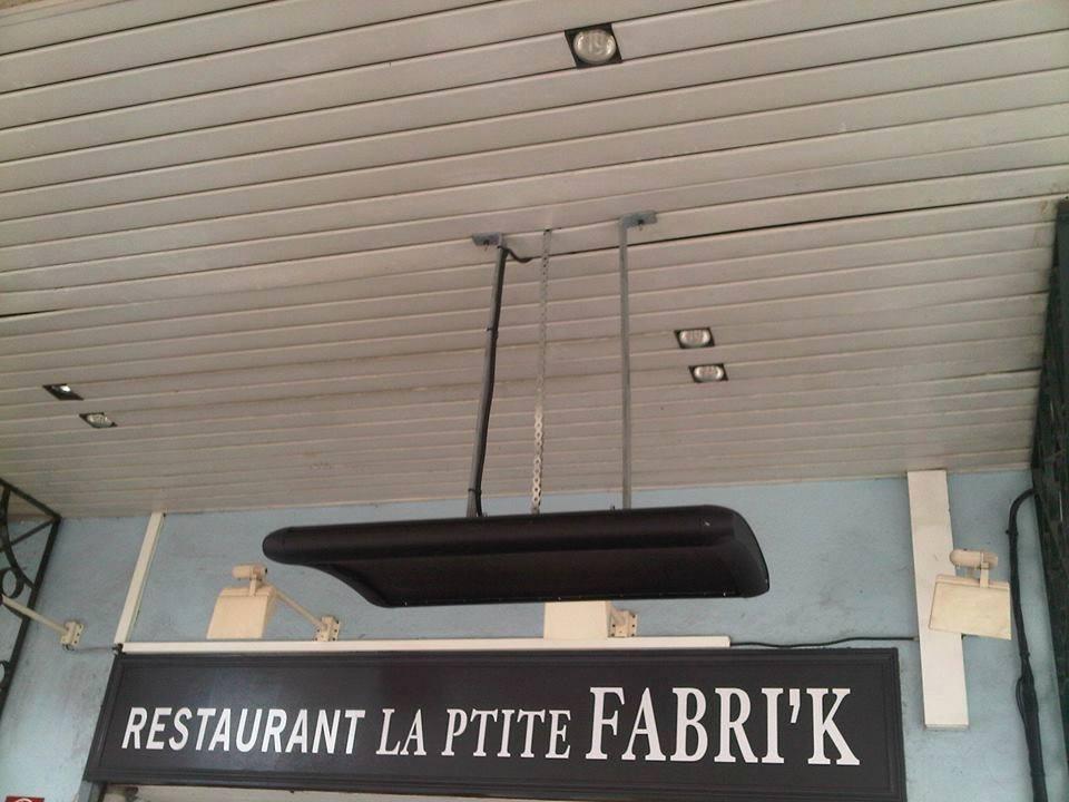 Restaurant La Ptite Fabri'k VARMIGO suspendu