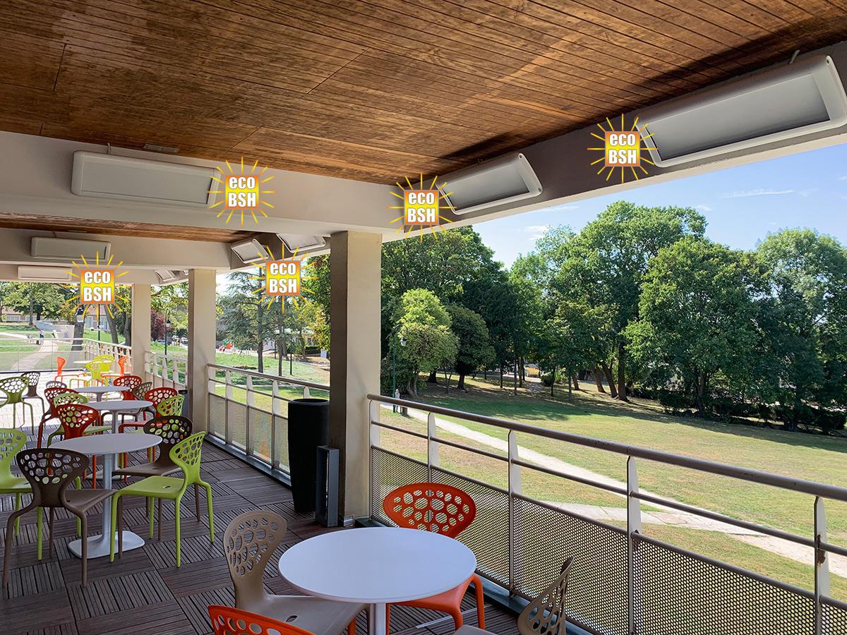 Terrasse Club de Golf VARMIGO blancs