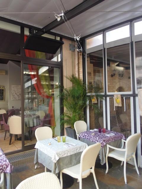 Terrasse restaurant VARMIGO