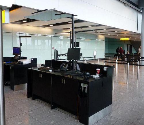 Réception aéroport Schipol
