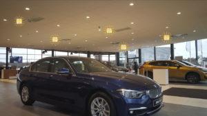 Chauffage BSH Intégré dans plafond pour Show Room et bureaux