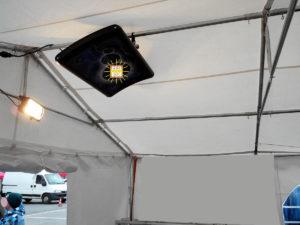 Chauffage BSH pour chapiteaux et événementiels