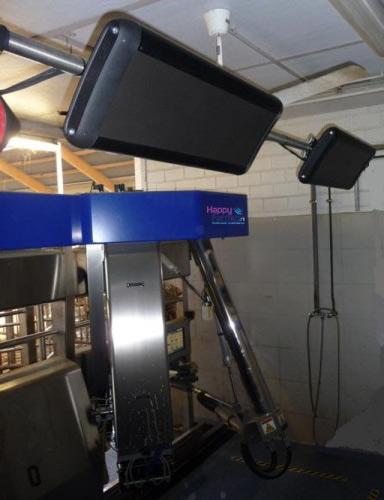 Maintien de température pour machine à traire les vaches