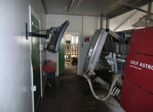Machine pour la traite de vaches