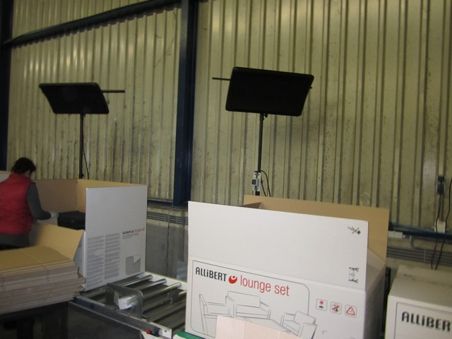 Ecosolusions-chauffage BSH Zone d'emballage industrielle