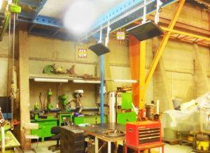 Chauffage BSH pour atelier de production