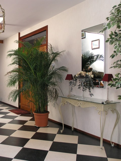 Miroir chauffant PLEZURA hall d'entrée