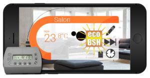 Gestion de la température de nos chauffages BSH + APP