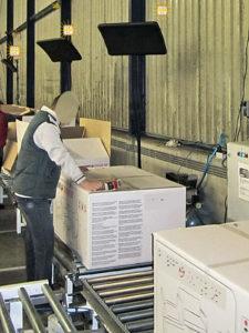 Chauffage BSH pour l'Industrie chaînes de montage