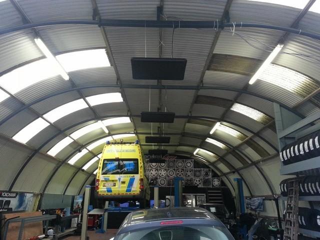 Ecosolusions-chauffage BSH Garage