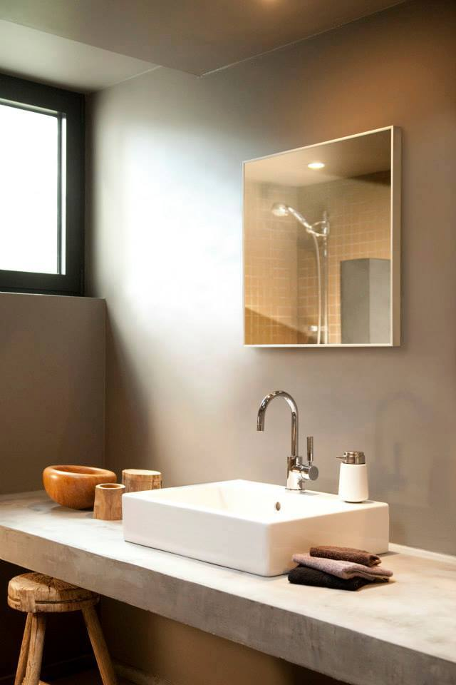 Miroir chauffant évier salle de bain