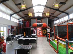 Chauffage BSH salle de jeux pour enfants